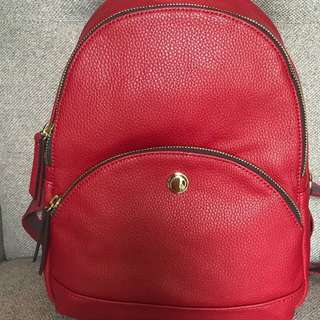 Authentic Nine West Taren Backpack Ruby red