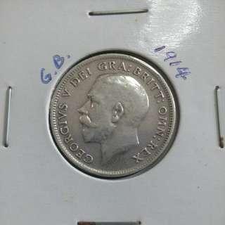 1914 GB 6 Pence