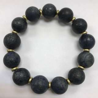 Old lapis lazuli bracelet