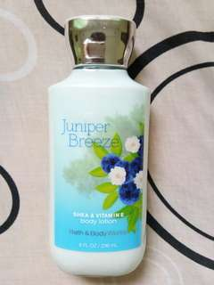 Bath & Body Works Juniper Breeze Body Lotion