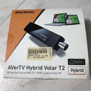 AVerTV DVB-T2 Digital TV / Analogue TV tuner with FM Radio