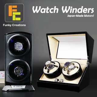 Watch Winder at Wholesales Price include 1 Year Warranty
