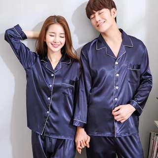 Thread of Silk Couple Family Bedroom Home Wear PJ