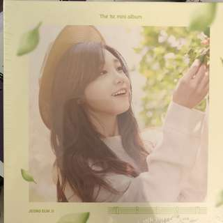 JEONH EUN JI ~ THE 1st MINI ALBUM (SEALED)