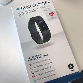 Fitbit Charge 2 - Gunmetal (SMALL)