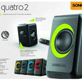 Sonic Gear Quatro 2 Speakers
