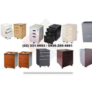 ( Movable Filing Cabinet ) High Quality - Office Partition *