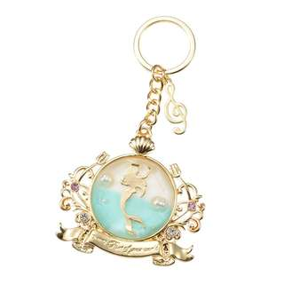 Japan Disneystore Disney Store Ariel Little Mermaid Alan Menken Series D23 Expo Keychain