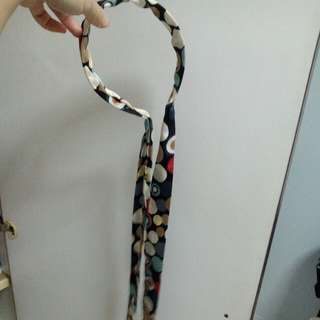 Colourful Soft Silk Polka dots headband