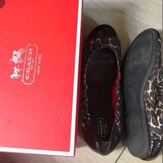 COACH flatshoes size 8
