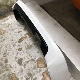 Honda Civic FD Rear bumper Add on Lip