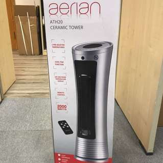 Brand new ceramic tower heater with remote control全新直立式暖爐連遙控