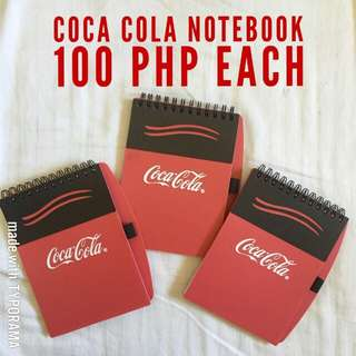 mollie&mommy cocacola mini notebook