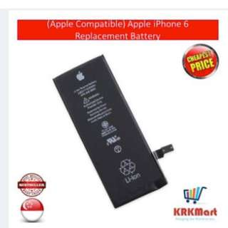 BRAND NEW: Apple iPhone 6 Replacement Battery (OEM)