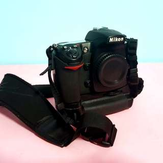 D300s Body only with Original Battery Grip by Nikon