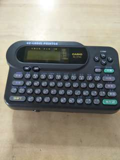 Casio Ez-Label printer (KL-2700) @$15 Each