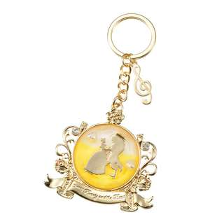 Japan Disneystore Disney Store Beauty and the Beast Alan Menken Series D23 Expo Keychain