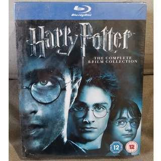 Harry Potter - Complete 8-Film Collection [Blu-ray] [2011] [Region Free]