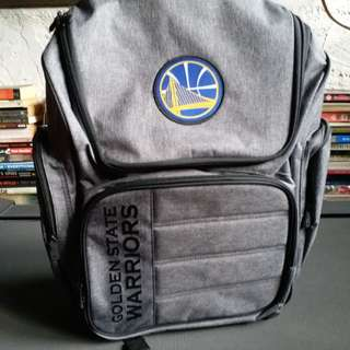 Golden State Warriors Backpack with laptop sleeve