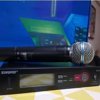Shure Wireless Microphone SLX 2 / BETA 58A
