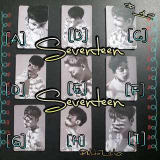Seventeen - YES卡 ( 白卡 )