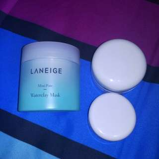 laneige mini pore waterclay mask share in jar