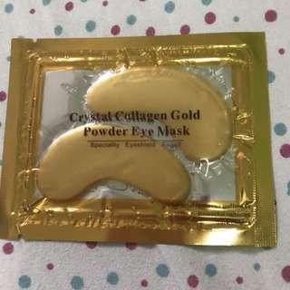 powder eye mask