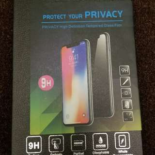 IPHONE X 鋼化玻璃貼