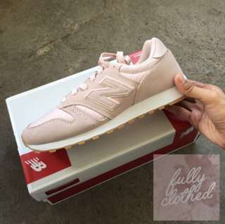 New Balance 373 Blush Pink Sneakers