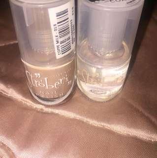 Stroberi Nail Polish&Top Coat
