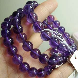 紫水晶/Amethyst/晶石/手鍊