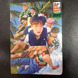 Exo kokobop album version B suho photocard (WTT/WTS)