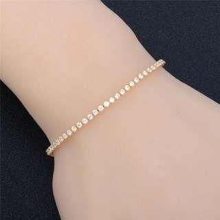 Zirconia Diamond Adjustable Bracelet