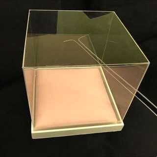 Dulang gubahan hantaran - acrylic box rental