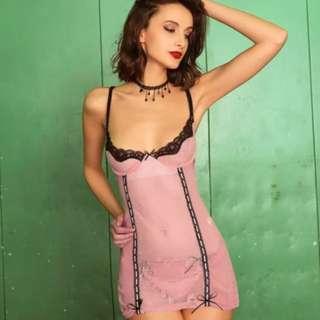 sexy romance push up sleepwear/ sleepdress / sleep dress / lingerie