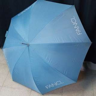 Fancl Blue col. with UV Protect Umbrella {路夠發$69.80fixed price} Famous brand 簡樸設計長雨傘雨遮 用料堅實 優雅大方 上班 閒遊 可攩雨遮UV防曬 銀色美觀握手腕位 配備原裝遮套 珍藏少用 乾淨清潔 100%可正常便用 Solid materials  Elegant Generous Shading UV Beautiful sliver handshake with original cover 98% new looking
