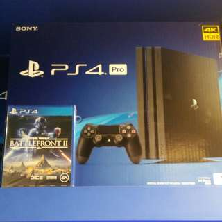 Ps4 pro 1TB with Game @ $599