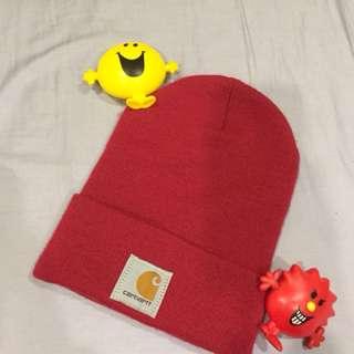 ♥️Carhartt紅色毛帽~♥️