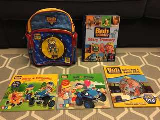 Bob the builder storybook treasury collection, bag & bonus DVD