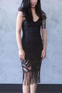 (BRAND NEW) Naomi bodycon dress in black
