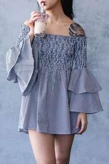(BRAND NEW) Kendall off shoulder dress