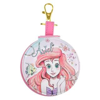 Japan Disneystore Disney Store Ariel the Little Mermaid Fur Kira Keychain with Mirror