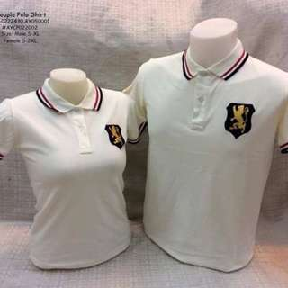Couple polo shirt size : S-2XL (women) S-XL (men)