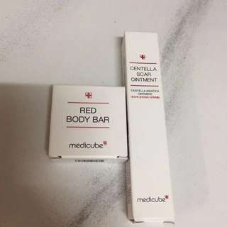 Medicube Centella Scar Treatment & Red Body Bar