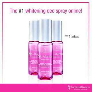 Sgt at Arms Whitening Deo Spray