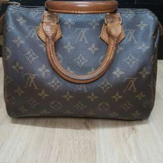 VINTAGE LOUIS VUITTON SPEEDY 25 MONOGRAM