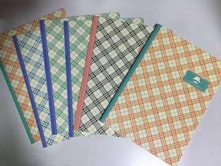 M&G Designed Notebooks