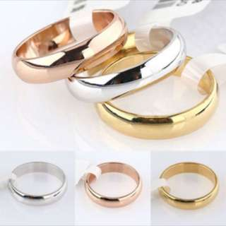 (PREORDER) Simple Plain Ring