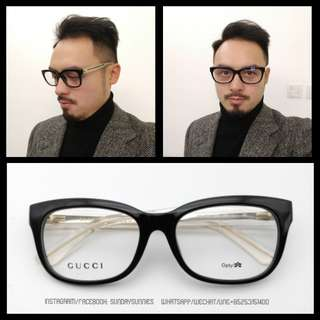 Gucci GG3579 Acetate spectacle frame 眼鏡