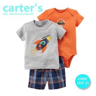 Carter's Boy 3PC CASUAL SET
